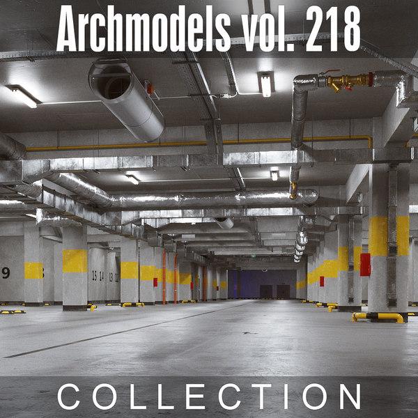 3D archmodels vol 218