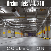3D archmodels vol 218