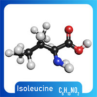 3D c6h13no2 isoleucine