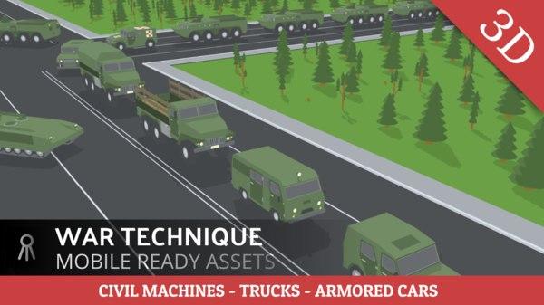 military tank 3D