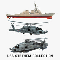 3D 2 uss stethem model