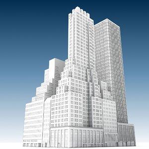 city buildings 3 3D model
