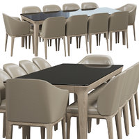 Busnelli Manda chair and table 1