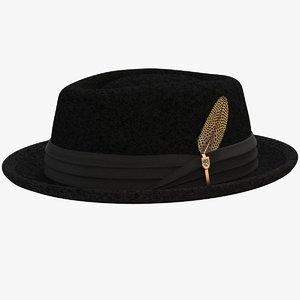 3D brixton stout hat