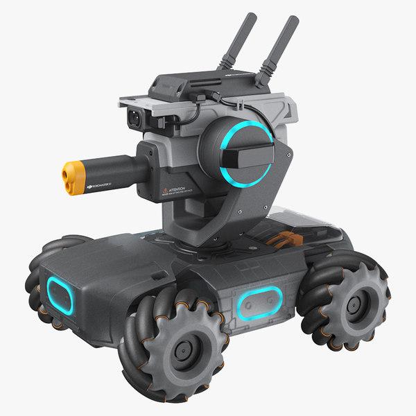 3D dji robomaster s1 model