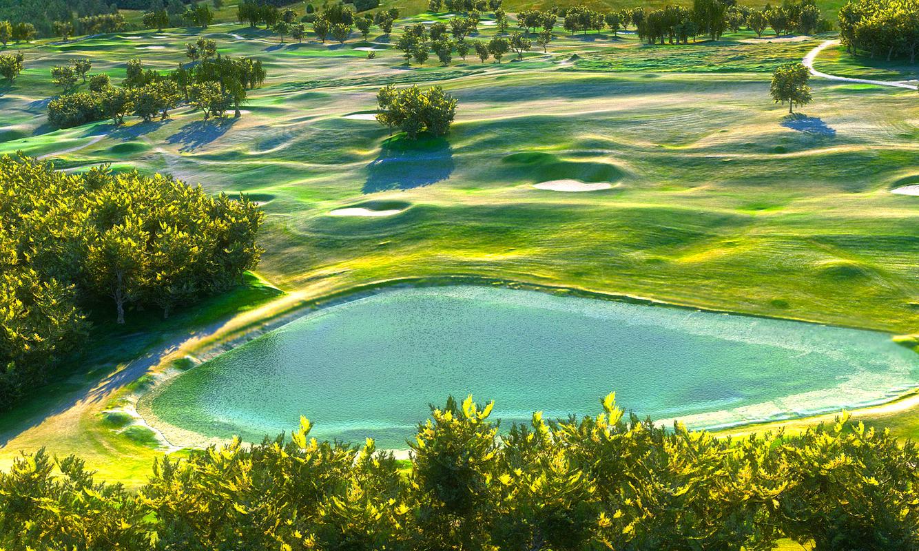 golf course hd 3D model