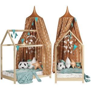 3D model children set 11