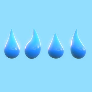 water drop model
