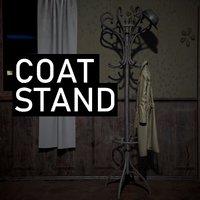 3D coat stand model