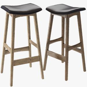 3D model andersen allegra bar stool