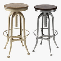 stool barstool toledo 3D