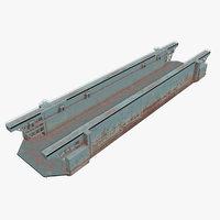 floating dock 3D model
