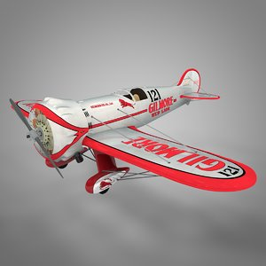 wedell-williams gilmore red lion 3D