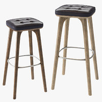 Utility Bar Stool High Chair