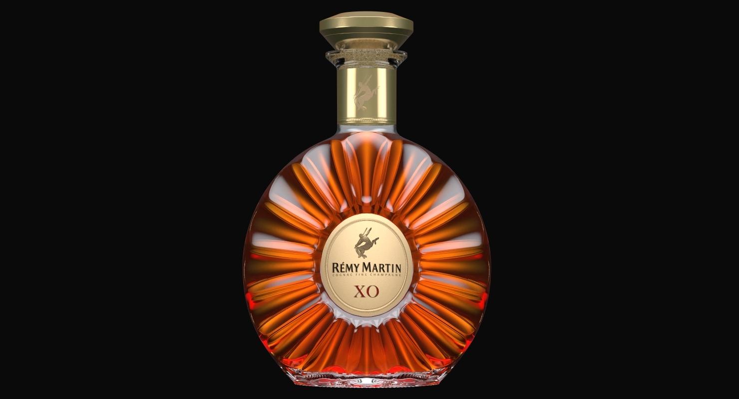 Remy Martin Xo Cognac 3d Model Turbosquid 1378788