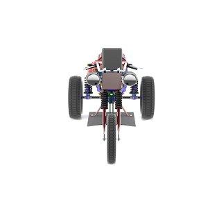 3D bike creative model