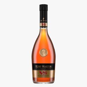 3D remy martin vs cognac