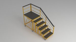 ladder work stairs model