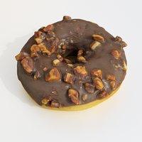 3D donut dessert