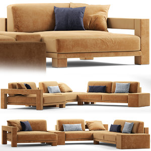 couch sofas 3D