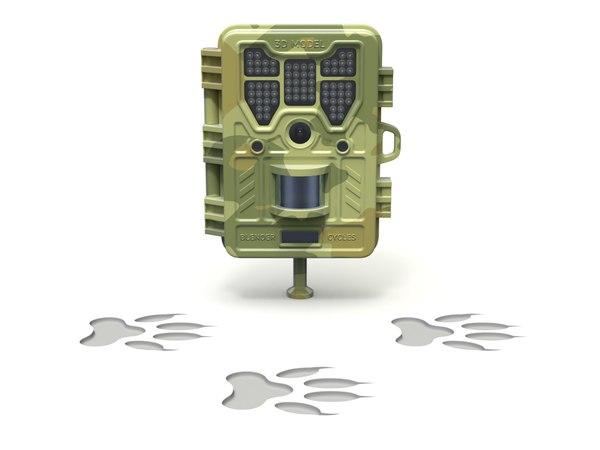 3D cam camera trail model