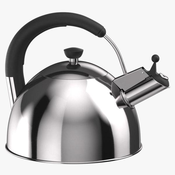 classic kettle 3D model