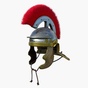 3D roman helmet