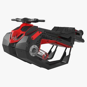 3D flyride hover jet ski