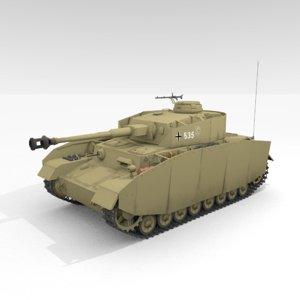 panzer iv ausf h model