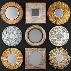mirrors decorative 3D model