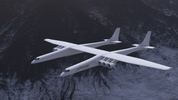 stratolaunch model