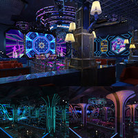 lounge night club 3D model