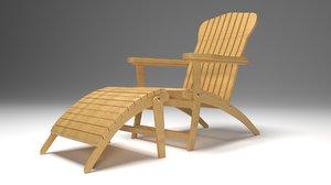 modern teak chair model