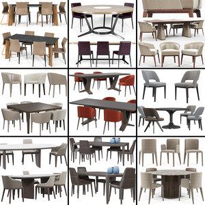 3D bonaldo chair model