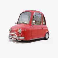 Cartoon Car Fantasy Fiat