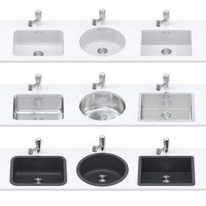 3D set sinks