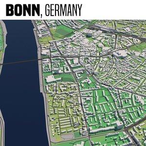 3D model city bonn