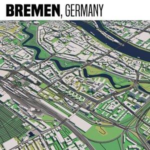 city bremen 3D model