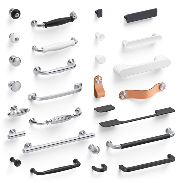 3D set handles