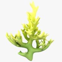 3D modeled coral