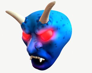 demon head 3D model