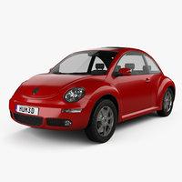 3D volkswagen beetle 2005 model