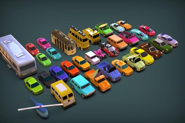 cars 3D model
