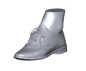 3D scan shoe model