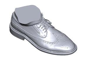scan shoe 3D model