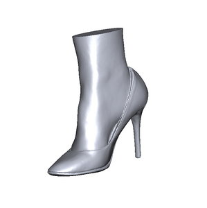 scan shoe 3D