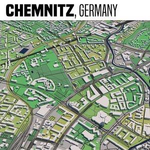 3D city chemnitz
