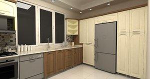 3D kitchen tre