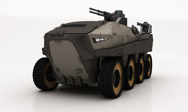 3D design armored vehicle hisar