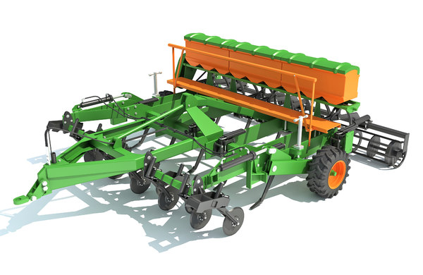 seed drill 3D
